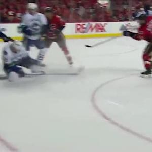 Stajan buries the game-winning goal on Miller