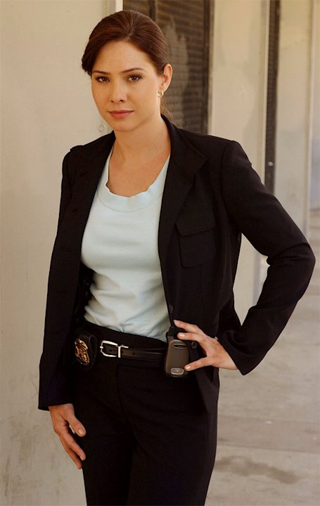 Sarah Brown stars on the CBS Television Network's Cold Case