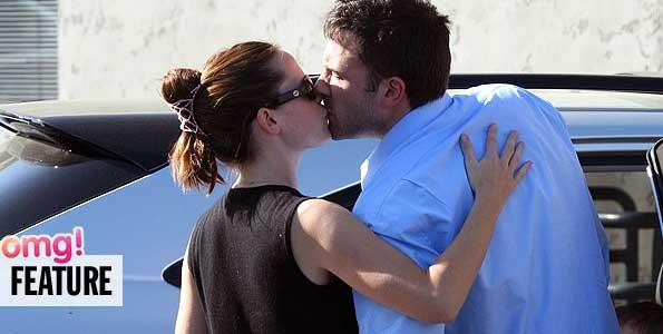 pgt Affleck Garner Kissing