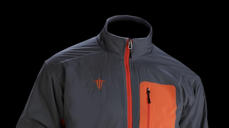 This product image released by Wild Things shows a men's Insulight jacket, featuring a fleece lined collar. (AP Photo/Wild Things)