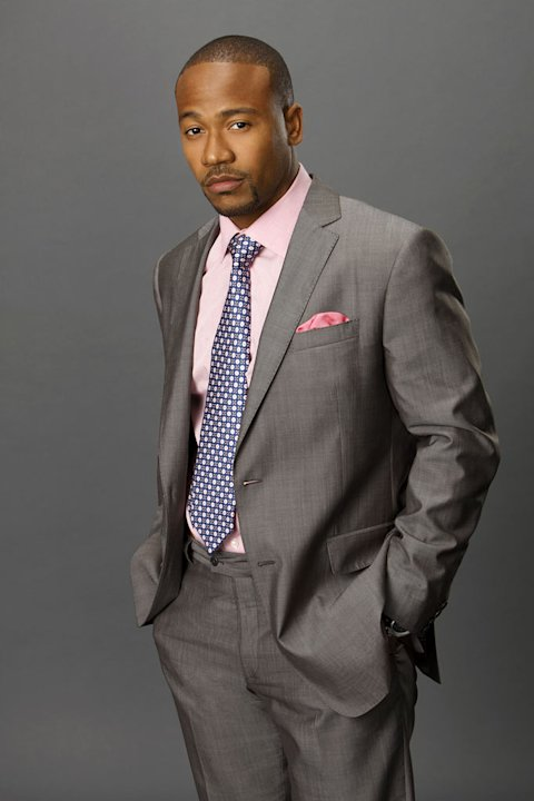 "Columbus Short stars as Harrison Wright in ""Scandal."""