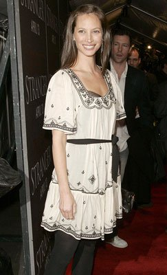 Christy Turlington at the New York premiere of Sony Pictures' Perfect Stranger