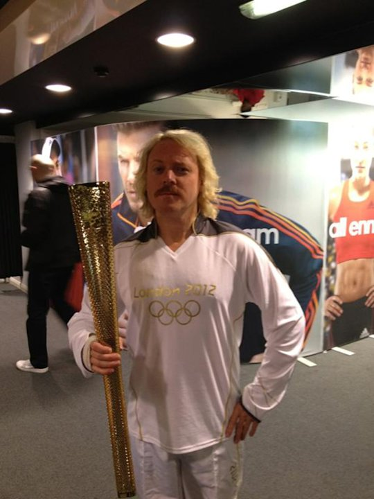 Celebrity photos: After Jedward got their mitts on the Olympic torch, we were wondering which celebrity would be next. It turns out it was Keith Lemon, with the comedian posting this proud picture of