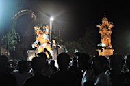 Preparing for Nyepi in Bali