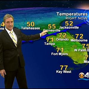 CBSMiami.com Weather @ Your Desk 12/10/13 11:30 PM