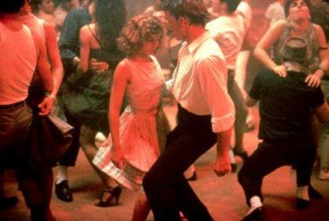 Jennifer Grey and Patrick Swayze in Dirty Dancing - 1987