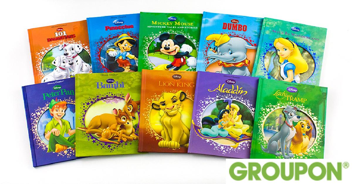 Disney Collectible 10-Book Set for $39.99