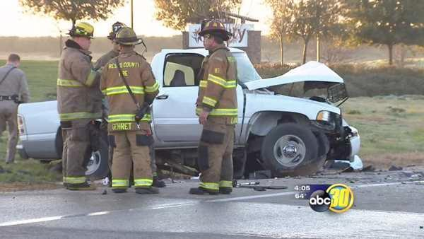 Two men are dead after their cars collided in Fresno County
