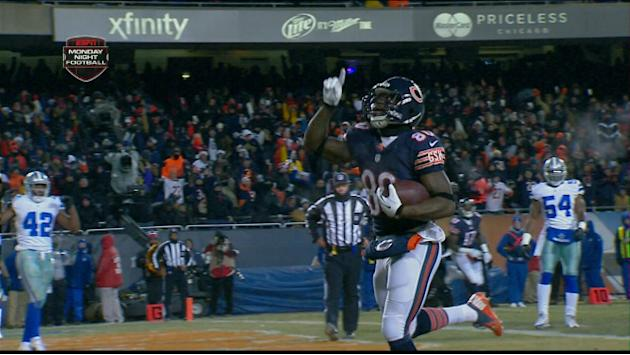 Chicago Bears wide receiver Earl Bennett 4-yard touchdown
