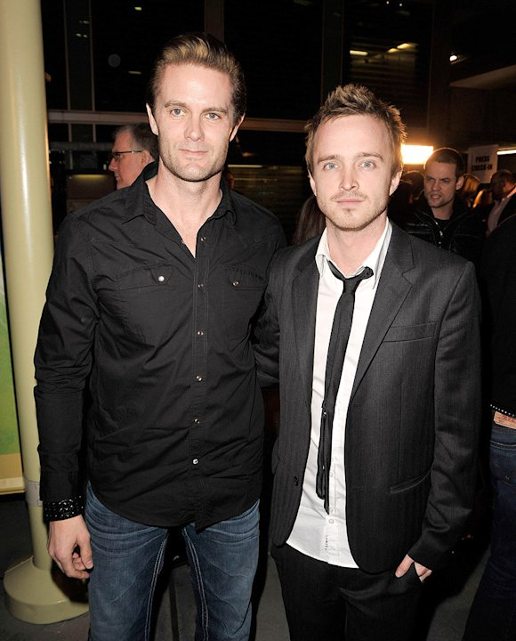 The Last House on the Left LA Premiere 2009 Garret Dillahunt Aaron Paul