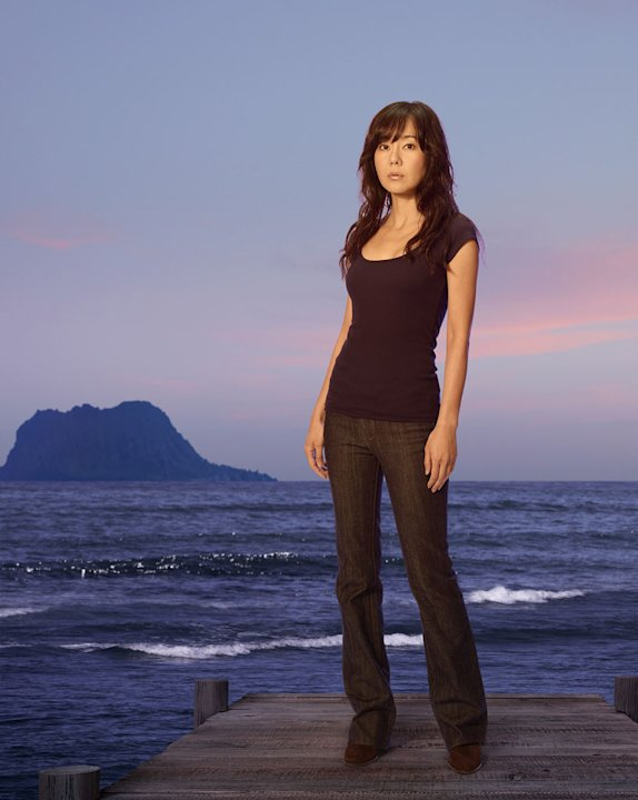"Yunjin Kim star as Sun on ""Lost."""