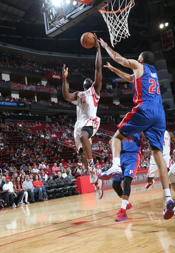 Harden leads Rockets to 96-82 win over Pistons