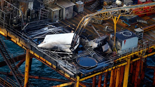 Two Missing in Oil Rig Blast (ABC News)