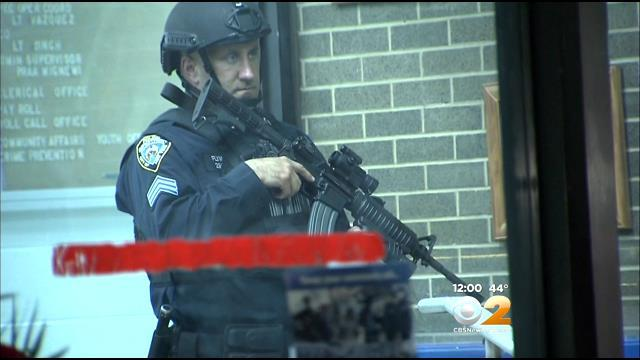 Threats to NYPD prompt arrests, precinct security