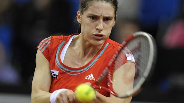 Andrea Petkovic muss im Finale zuschauen