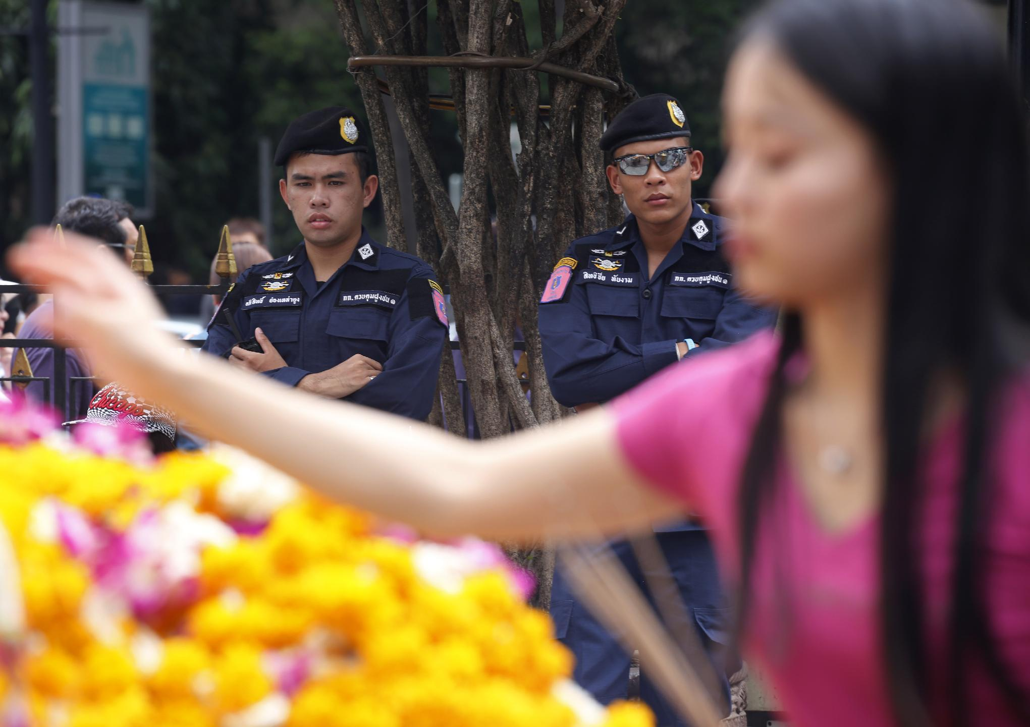 The Latest: Thai sought in Bangkok bomb believed in Turkey