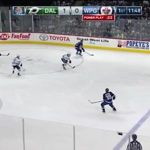 Kari Lehtonen Save on Jacob Trouba (08:13/1st)