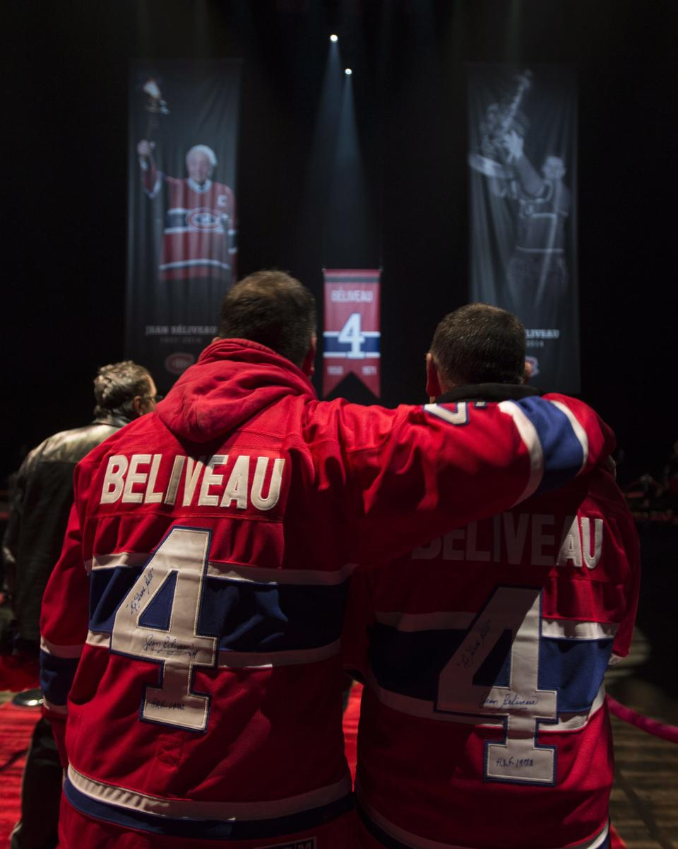 Fans, Teammates Pay Tribute To Jean Beliveau