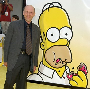 Dan Castellaneta at the Los Angeles premiere of 20th Century Fox's The Simpsons Movie