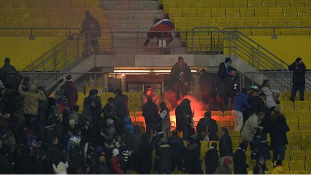 Champions League - Zenit condemn fan violence in Vienna