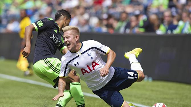 Tottenham, Seattle play entertaining 3-3 draw