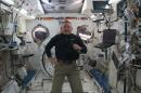 Astronauts Celebrate Thanksgiving in Space (Video)