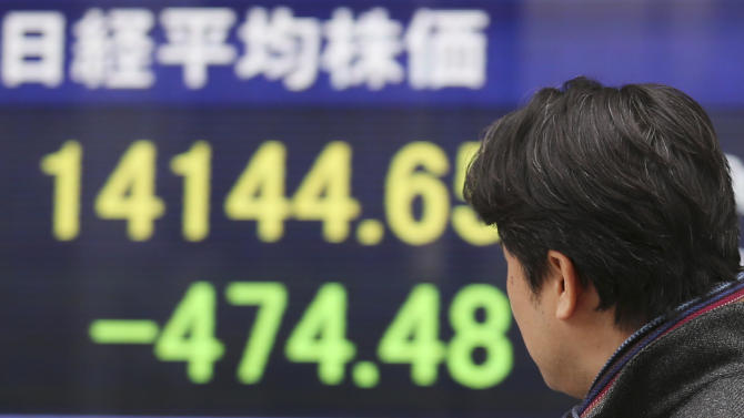 Asian shares higher on modest rebound in Japan