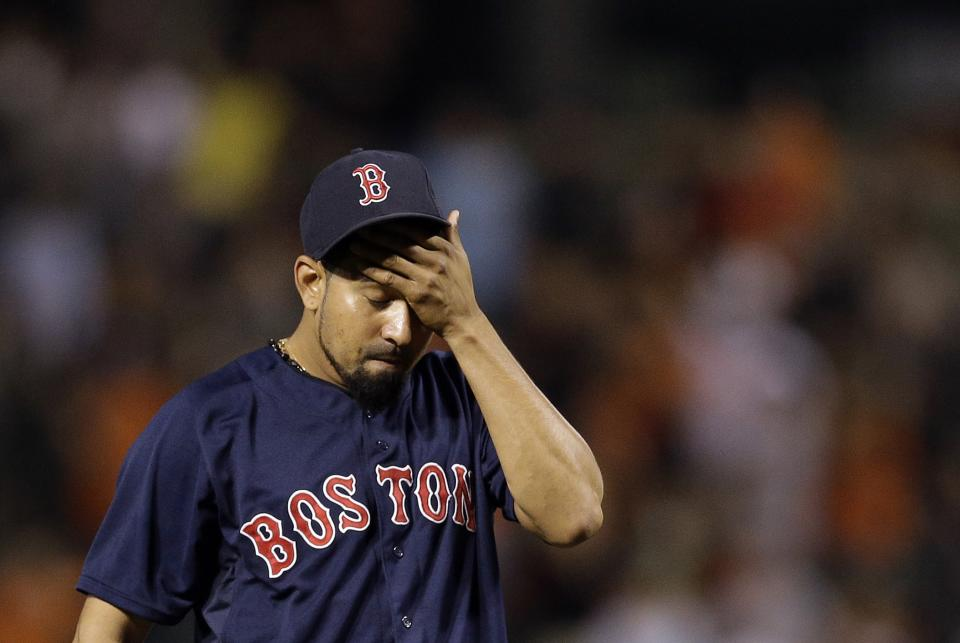 Red Sox get home-field, then fall 6-5 to Orioles