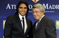 Atletico Madrid cannot stop Chelsea target Falcao leaving, says club president