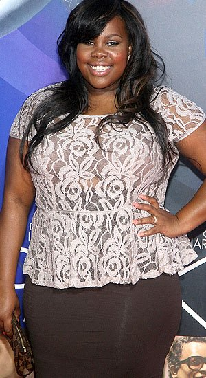 &amp;#34;Glee&amp;#34; star Amber Riley (WireImage)