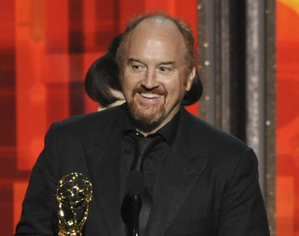 "FILE - This Sept. 23, 2012 file photo shows Louis C.K. accepting the award for outstanding writing in a comedy series for ""Louie"" at the 64th Primetime Emmy Awards at the Nokia Theatre in Los Angeles. FX network says it's delaying the return of its hit comedy ""Louie"" until spring 2014. The network said Tuesday it had granted the request by the series' Emmy-winning star, Louis C.K., for what he called ""a little breathing room."" Along with performing in the show, he serves as producer, writer and editor, and also created it. (Photo by John Shearer/Invision/AP, file)"