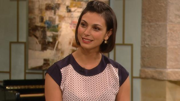 Morena Baccarin on Access Hollywood Live on December 7, 2012 -- Access Hollywood