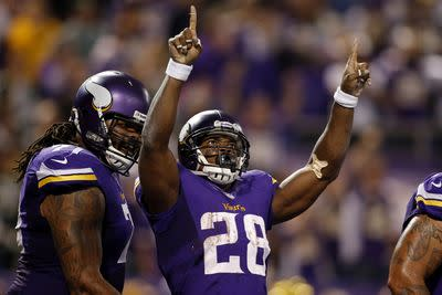 Adrian Peterson's most likely destination in 2015? The Minnesota Vikings