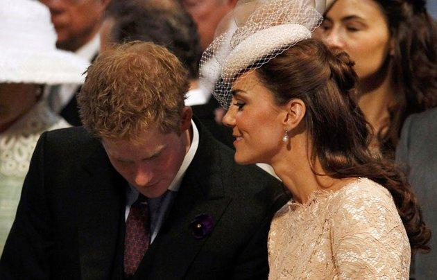 Pangeran Harry, Kate Middleton