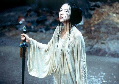 Zhang Zi-Yi as Jen in Sony Pictures Classics' Crouching Tiger, Hidden Dragon