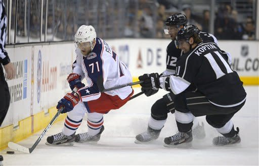 Clifford, Bernier lead LA Kings past Columbus 2-1