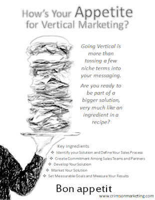 What's Your Appetite for Vertical Marketing? Five Strategic Steps to Going Vertical image vertical mktg