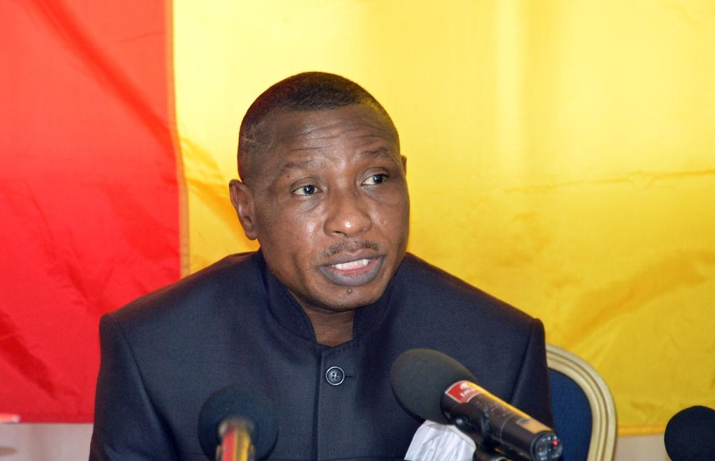Guinea's ex-junta chief blocked from returning home: party
