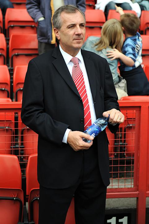 Peter Varney (pictured) will be replaced as Charlton's executive vice-chairman by Martin Prothero