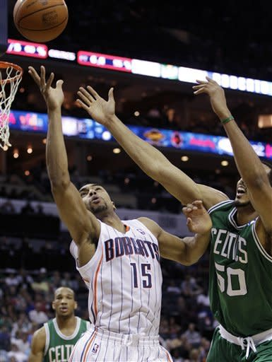 Celtics beat Bobcats 94-82 without 3 star players