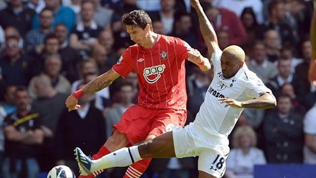 Jose Fonte, left, has reflected on how far Southampton have come since he joined the club