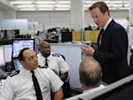 Cameron vows to restore order after 'mob rule'
