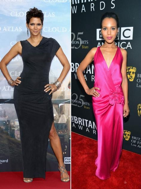 Halle Berry/Kerry Washington -- Getty Images