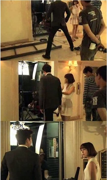 Big Gong Yoo Exhibits Manner Legs for Lee Min Jung