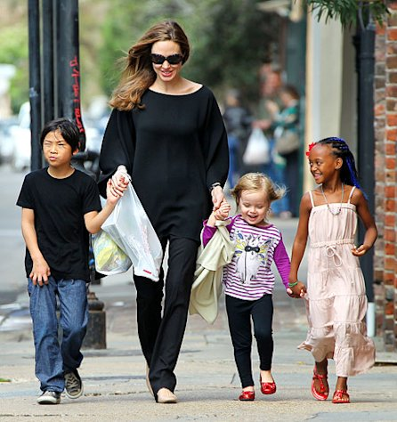 Angelina Jolie and Brad Pitt's Kids Pax and Zahara Cast in Maleficent!