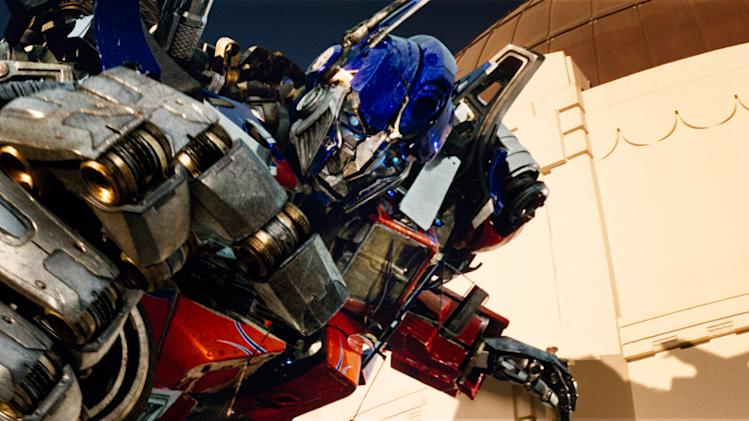Transformers Production Stills Paramount 2009
