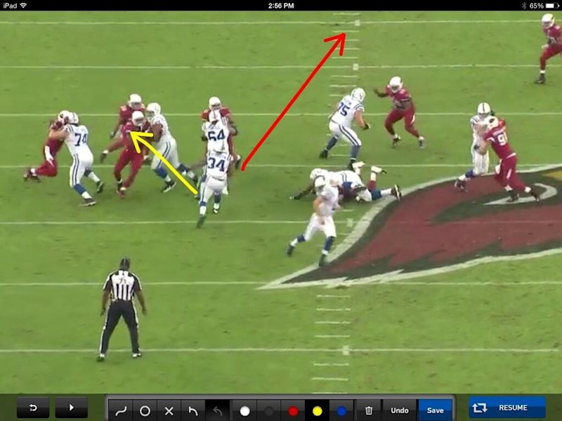 trent richardson run