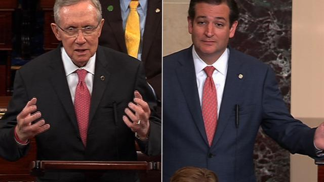 "Reid: Ted Cruz is the Senate's ""schoolyard bully"""