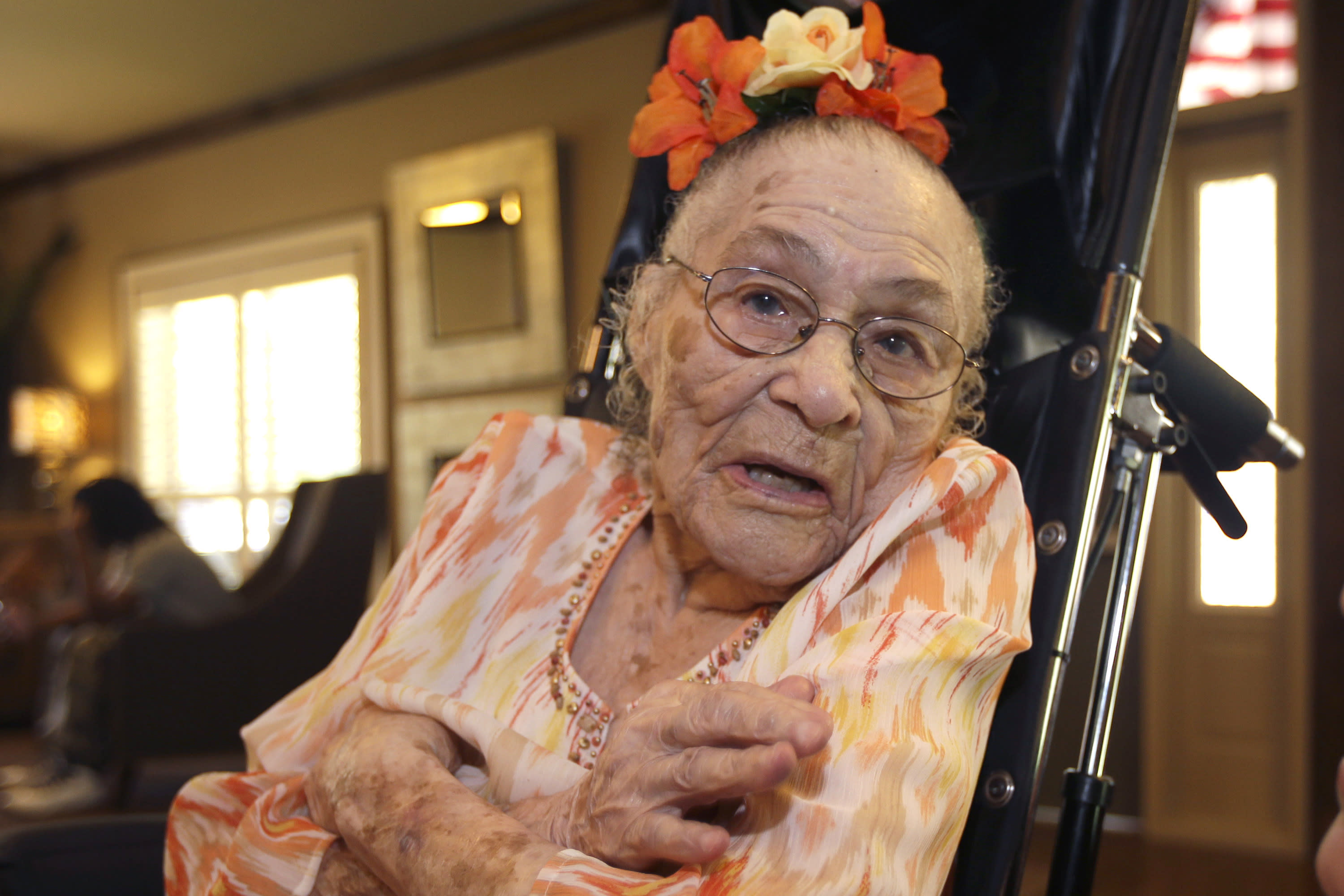 Arkansas woman now world's oldest person, wants Obama visit