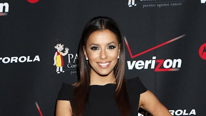 Verizon Wireless welcomes actress and Latino community leader Eva Longoria to the Fourth Annual Latino Entrepreneur of the Year Awards Gala in Long Beach, Calif on Nov. 7. Verizon Wireless continues to show their commitment to recognize and support Latino entrepreneurs and professionals such as Monica Gonzales, 2012 recipient of the Latino Entrepreneur of the Year Award. (Photo by Todd Williamson/Invision for Verizon Wireless/AP Images)
